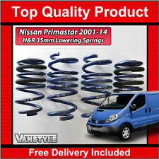 FOR NISSAN PRIMASTAR 01-14 GENUINE H&R 35MM SPORT LOWERING SUSPENSION SPRING SET