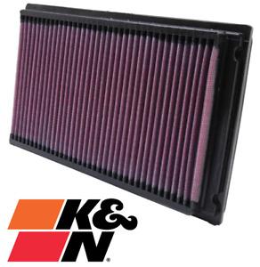 K&N AIR FILTER FOR HOLDEN CALAIS VT VX VY ECOTEC L36 3.8 V6 WITH FACTORY LPG
