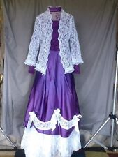 Victorian Dress Edwardian Womens Civil War Style Walking Suit