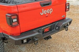 Rough County Heavy-Duty Rear LED Bumper for 2020 Jeep Gladiator JT 10646