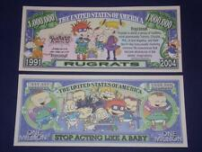 UNC. RUGRATS  NOVELTY NOTE ONLY .25 SHIPPING FREE SHIP + FREE NOTES!