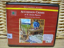 ACCORDIAN CRIMES by Annie Proulx (2005, Unabridged 16 CD)