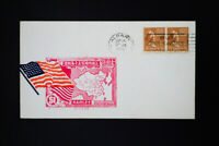 US Stamps on WWII Cover with China Cachet