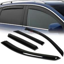 FOR 06-11 MB M-CLASS W164 SMOKE TINT WINDOW VISOR SHADE/VENT WIND/RAIN DEFLECTOR
