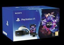 Sony PlayStation PSVR Headset with VR Worlds Mega Starter Bundle V.2