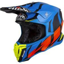 Airoh TWGR18 Helmet Motorbike off Road Twist Great Blue Matt L