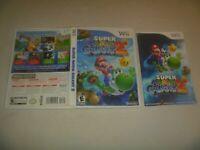 "(Case, Manual & Artwork Only) (NO GAME) Nintendo Wii ""Super Mario Galaxy 2"""
