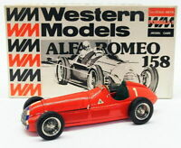 Western Models 1/24 Scale F1 Model Car WF8D - Alfa Romeo 158 - #1