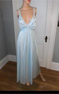 Vintage Olga Nightgown Nylon Small 22-29 Waist