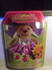Lil' Luvables Fluffy Factory Dress - Purple