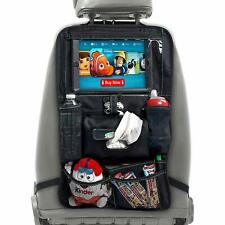 BABYSEATER Car Back Seat Organizer with Tablet Holder for Kids Travel Kick Mat