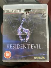 Resident Evil 6 (Sony PlayStation 3, 2012) PS3 Resi game