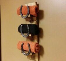 Horse Shoe Rustic Towel Holder