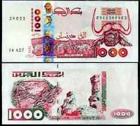 ALGERIA 1000 DINAR 1998 P 142 b UNC