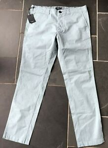Paul Smith Light Blue Button Fly  Chino style Jean Trousers 32 R