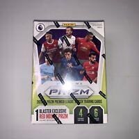 2020-21 Panini Prizm Premier League Soccer Blaster Box RED MOSAIC Target Hot!!