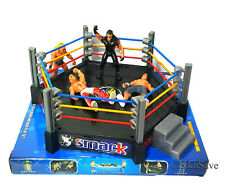 WWE Action Figures Smack Down RAW Wrestler Superstar Fight Ring BOYS XMAS GIFT