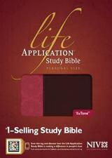 Life Application Study Bible-NIV-Personal Size (Leather / Fine Binding)