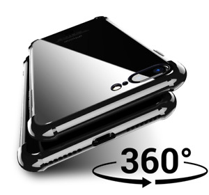 Ultra Shockproof Full Body Case Tempered Glass Screen Cover for Apple iPhone 11