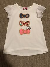 NEW Hello Kitty Girls 4T Bows T-Shirt NWOT