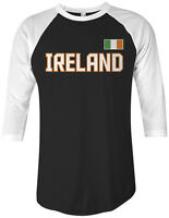 Ireland National Team Unisex Raglan T-Shirt Irish Pride