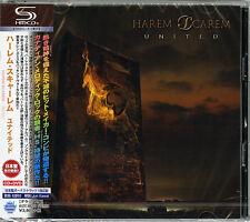 HAREM SCAREM-UNITED-JAPAN SHM-CD+DVD BONUS TRACK Ltd/Ed I45