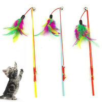KQ_ Feather Teaser Cats Toys Multifunction Electric Interactive Rotating Pet Fun