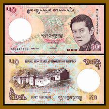 Crisp UNC New King Featured 29a Bhutan 10 Ngultrum P
