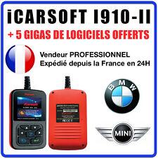 Valise Diagnostique BMW & MINI - iCarSOFT I910-II - INPA K+DCAN Valise OBD2