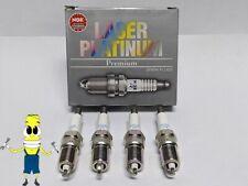 NGK (5555) PFR6G-11 Laser Platinum Spark Plug - Set of 4