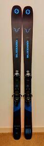 2021 Blizzard Rustler 10 180cm W/ Salomon Warden 13 Bindings