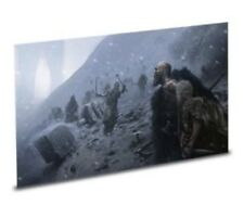 God of War 4 Stone Mason Collector's Edition PS4 Lithograph Poster Print Cabrera