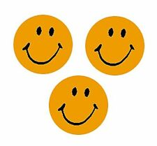 800 Green Neon Smiles - School Teacher Reward Stickers - Free 1st Class UK P&P