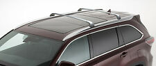 CROSS BARS ROOF RACKS FOR 2014-2017 TOYOTA HIGHLANDER XLE LIMITED SILVER