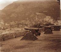Monaco Los Pistolas Placa P7 Estéreo Vintage Positivo 6x13cm