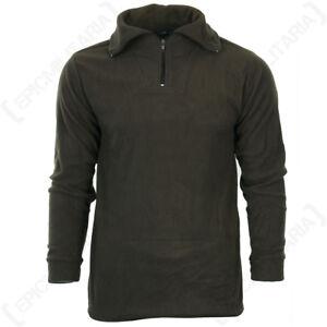 Olive Drab Thermal Underwear Set - Winter Warm Fleece Lining Base Layer New