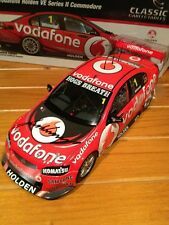 Jamie Whincup Signed 1:18 Model Car VE series 2 - 2012 Championship  year