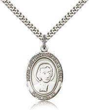 Saint John Baptist De La Salle Medal For Men - .925 Sterling Silver Necklace ...