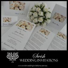 White Roses Wedding Invitations & Stationery - Samples Invites ONLY $1
