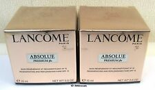 LANCOME ABSOLUE PREMIUM BX DAY  x 2 - CELLOPHANE WRAPPED