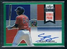 2013 Leaf Metal Draft National Pride Miguel Sano Green Ref #ED 07/10 Auto TWINS
