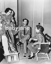 078 HEDY LAMARR GILBERT ADRIAN JANET GAYNOR ON SET OF LADY OF THE TROPICS PHOTO