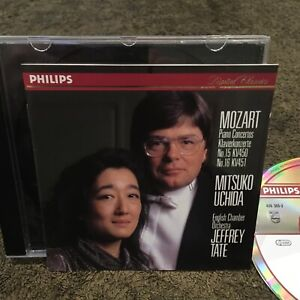 Philips 426 305-2 ! MOZART ! MITSUKO UCHIDA / JEFFREY TATE / ECO (1991) NM-
