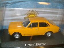 1/43 DODGE 1500, HILLMAN AVENGER 4 DOOR SALOON IN YELLOW