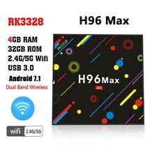 H96 Max H2 Android 7.1 TV Box 4G 32G RK3328 Quad Core 4K Smart Tv VP9 HDR10 USB3