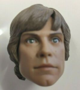 SIDESHOW LUKE SKYWALKER HEAD Sixth scale toy Star Wars part ESB hot Collectibles