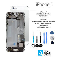 Complete Back Cover Housing Assembly Replacement Pre Assembled - iPhone 5 WHITE