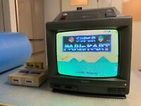 RARE Nintendo + Sharp 14G-SF1 / Japanese Super Famicom/SNES 14 inch CRT TV