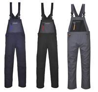 Portwest TX62 Texo Sport Bib & Brace Dungarees High Quality Workwear Overalls