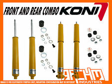 HOLDEN COMMODORE VT VX VY VZ SEDAN KONI SPORT ADJUSTABLE F & R SHOCK ABSORBERS